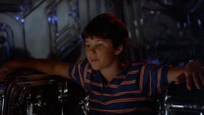 """Kinderstar Joey Cramer in seiner vielleicht berühmtesten Rolle als """"Navigator"""". Der Film war so erfolgreich, dass sich bis heute hartnäckig Gerüchte um ein Remake halten"""