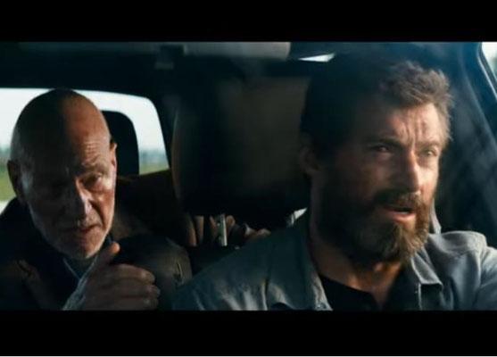 Hugh Jackman und Patrick Stewart. Auch Stewart kündigte an, in Logan seinen letzten Auftritt als Professort Xavier zu absolvieren