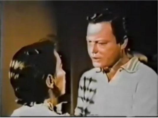 """habt Ihr ihn erkannt? Es handelt sich natürlich um """"unseren"""" Bones/Pille McCoy aus Star Trek original Series"""