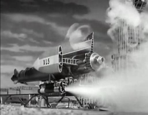 die XL5 startet von Space City