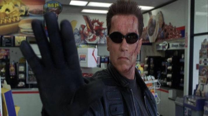 """""""Talk to the Hand"""". Der Film hat einige komische Elemente zu bieten, die teilweise auf Schwarzeneggers Ideen zurückgehen"""