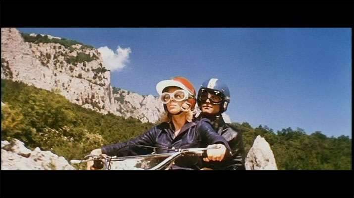 German Poloskow als Igor und Iren Aser als Lotta. Wunderschöne, teils idyllische Bilder wie hier zeichnen die erste Hälfte des Films aus)