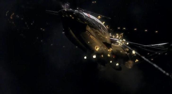 die Galactica wurde von Grund auf neu designed, ist aber nicht weniger majestisch, als das Original