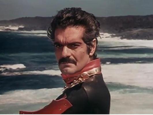 Omar Sharif als Kapitän Nemo zu besetzen sollte sich als Glücksgriff für die Produzenten herausstellen