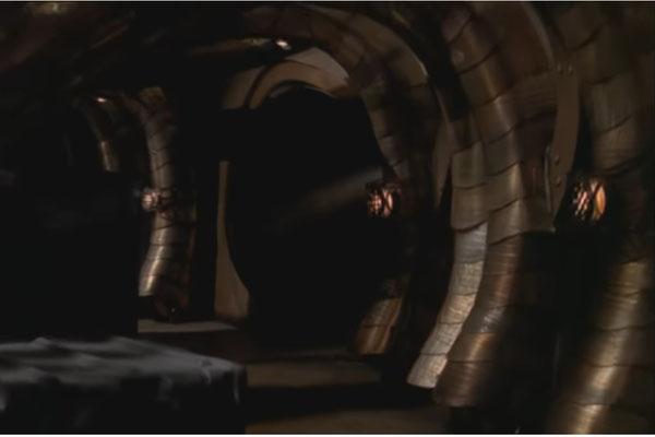 Die Gänge der Moya, dem lebendigen Raumschiff der Farscape-Crew