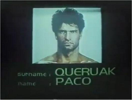 Paco ist 30% Mensch und 70% Maschine... und sicherlich total verzweifelt wegen des Zungenbrechers, der sich Name nennt