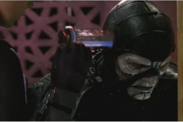 So manche Maske erinnert durchaus an Star Trek - The Next Generation