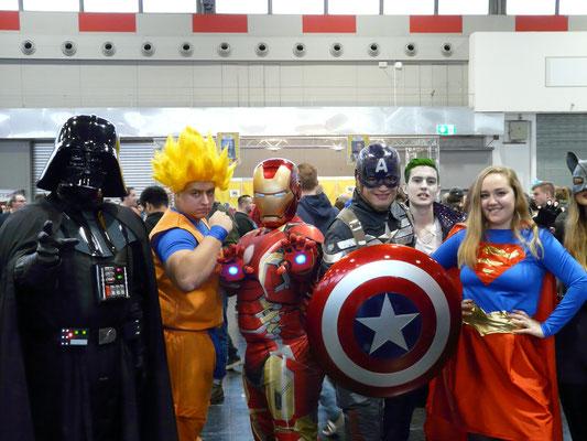 Crossover war ein großes Thema auf der German Comic Con Dortmund.