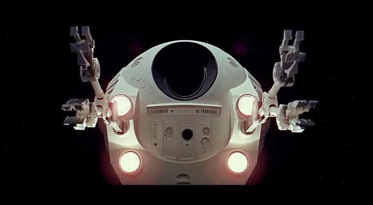 nie zuvor wurden Raumfahrzeuge und deren Bewegungen im All so realistisch dargestellt wie in 2001: Odyssee im Weltraum