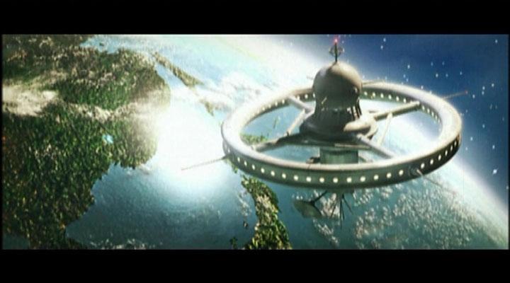 Die Raumstation HHF-1 weist ein wundervolles, retrofuturistisches Design auf