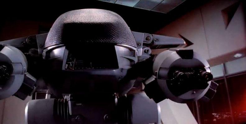 aus Alex Murphy ist Robocop geworden, ein Cyborg