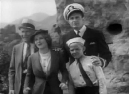 "Ray ""Crash"" Corrigan mit Lois Wilde, C. Montague Shaw und Lee van Atta"