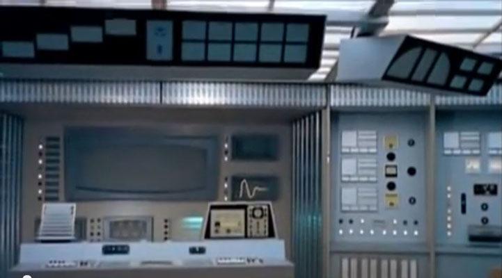 die Sets des Raumschiff-Inneren sind ansehnlich