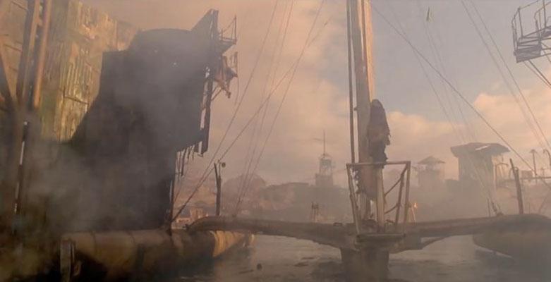 """die Atolle sind Angriffen durch die """"Smoker ausgesetzt, Helen und Enola retten sich mit Hilfe des Mariner"""
