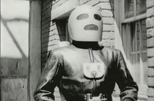 Der Rocketman erinnert ein wenig an den Iron Man