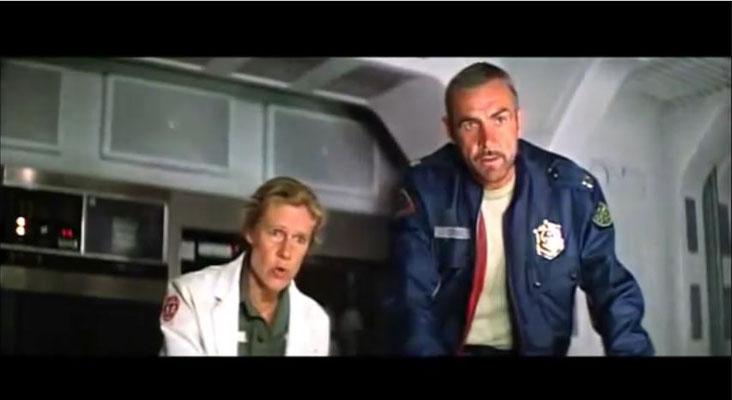 Sean Connery und Frances Sternhagen brillieren als Marshal O'Niel und Dr. Lazarus