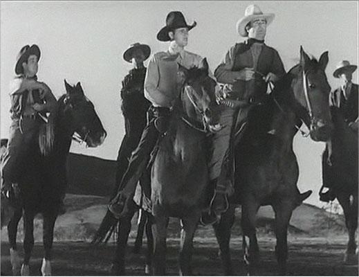 Helden, Pferde, Hüte, Halsbänder, Colts, die Western-Elemente sind stark ausgeprägt