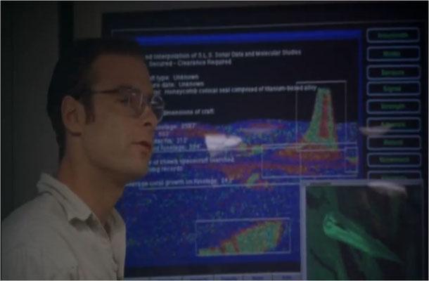 ein riesiges Raumschiff wurde 300 Meter tief auf dem Meeresboden entdeckt. Der junge und ehrgeizige Physiker Dr. Fielding möchte dieses Phänomen unter allen Umständen erforsche