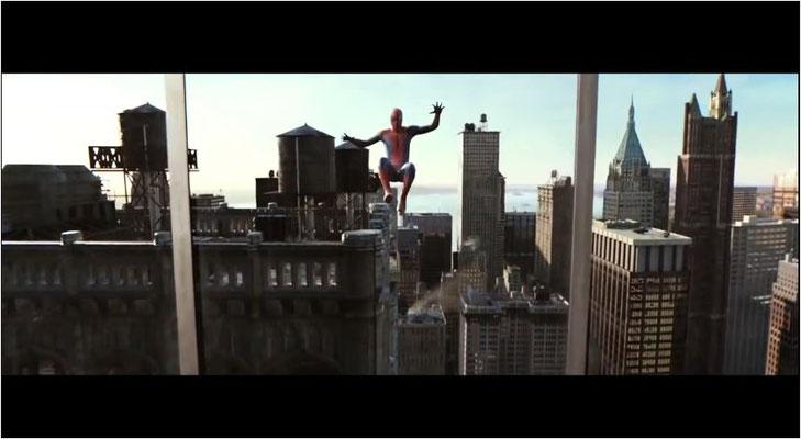 Spiderman hüpft teilweise wie ein Gummiball durch den Film. Daran ändern auch die zahlreichen auf 3D getrimmten Einstellungen und Effekte nichts