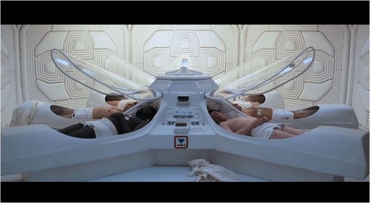 der Film verfügt über ein hervorragendes Design, zum Beispiel die Kältekammern wirken sehr stimmig
