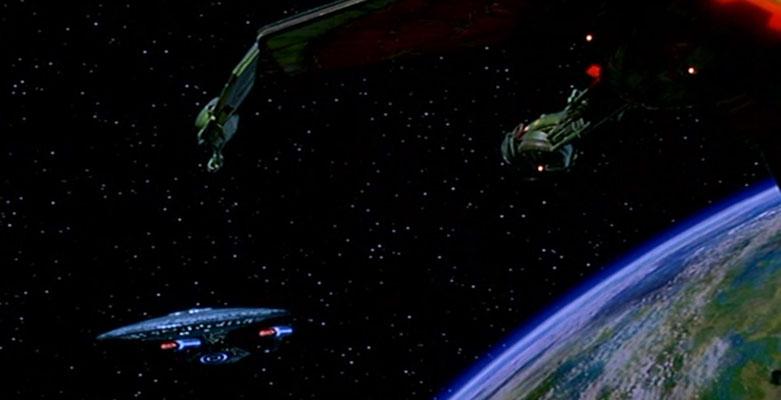 Die U.S.S. Enterprise 1701D sieht zwar, wie immer, cool aus, ist aber dieses Mal nicht Gegenstand unserer Betrachtungen