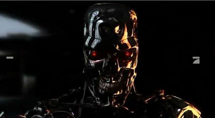 der T888 oder Tripple 8 Terminator, den wir schon aus dem ersten Kinoabenteuer kennen, spielt in der Serie eine große Rolle