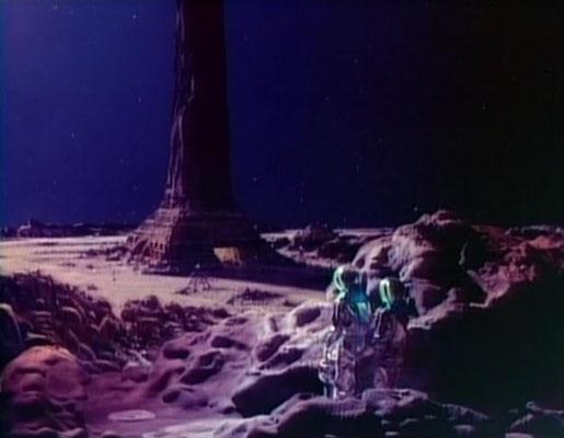 """die Überreste einer hochentwickelten, friedliebenden, Zivilisation aus einer meiner Lieblingsfolgen: """"Der Stern"""" [""""The Star""""]"""
