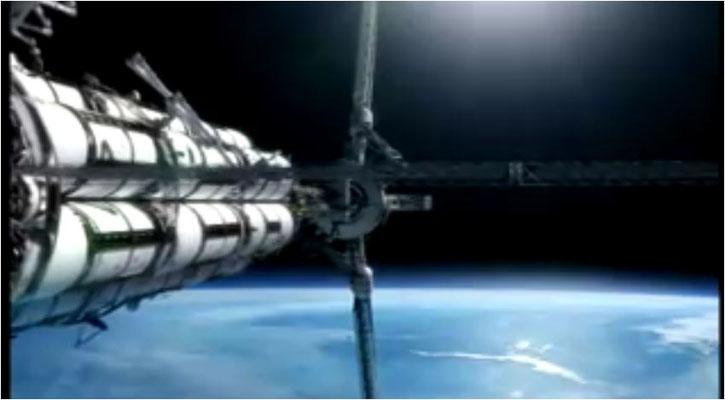 die am Computer animierte Pegasus ist kein reines Fantasiegebilde: sie wurde nach NASA Plänen designet