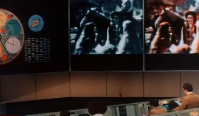 der futuristische Stil von Westworld wird in Futureworld sogar noch ausgebaut