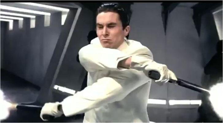 """Christian Bale in Action, von derartig, """"Matrix""""-artigen toll choreografierten Szenen lebt der Film"""