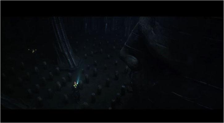 spätestens an dieser Stelle weiß der geneigte Alien Fan, worauf der Film zusteuert, denn  ähnliche Behälter wie diese kennt man im Franchise nur zu gut