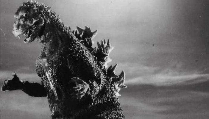 Godzilla, wie er 1954 aussah
