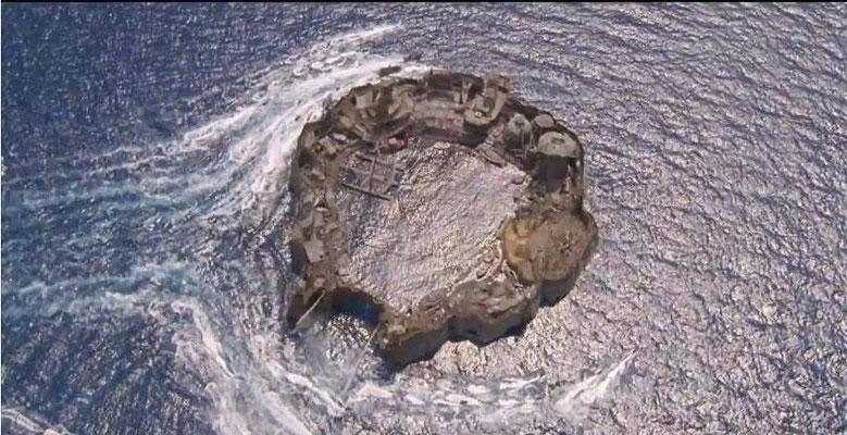 derartige Atolle sind die letzten Orte menschlicher Zivilisation
