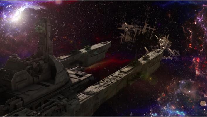 Das Schiff der Starhunter wird von der K.I. Caravaggio bewohnt