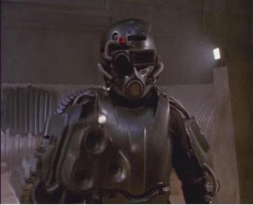 einer der von der Men Tel Corporation gezüchteten Cyborgs