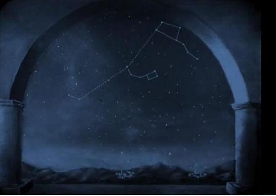 Beispiel für eine der zahlreichen Animationen aus dem 2. Akt