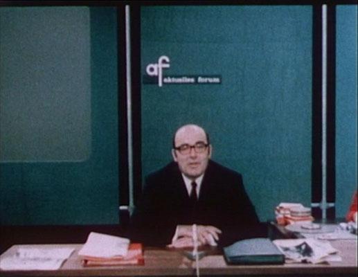 Erler präsentierte Die Delegation als fiktive Reportage, die für zahlreiche besorgte Zuschauerreaktion sorgte)