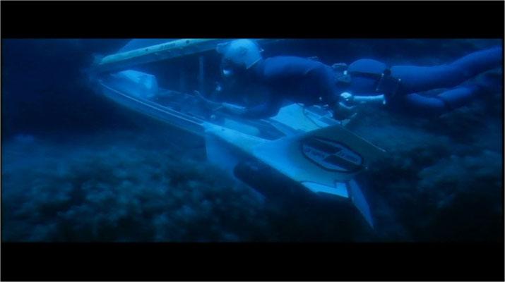 Die Unterwasseraufnahmen sind sicherlich nicht so aufwendig wie in wesentlich höher budgetierten US-Produktionen, aber doch sehr schön anzusehen