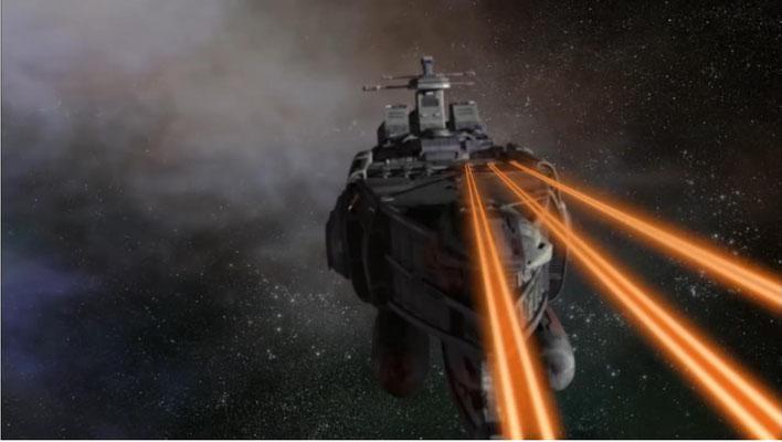 Action wird in Starhunter groß geschrieben, gerne auch einmal mit Raumkreuzern, wie diesem