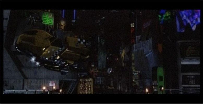visuell orientiere man sich an Werken wie Blade Runner und Batma