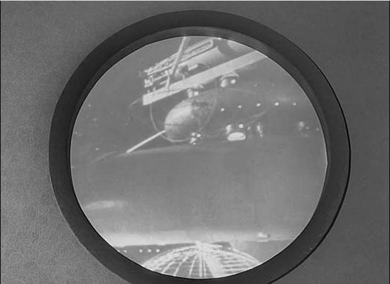 """die Raumstation MIRNA stammt aus dem Film """"Der Himmel ruft"""""""