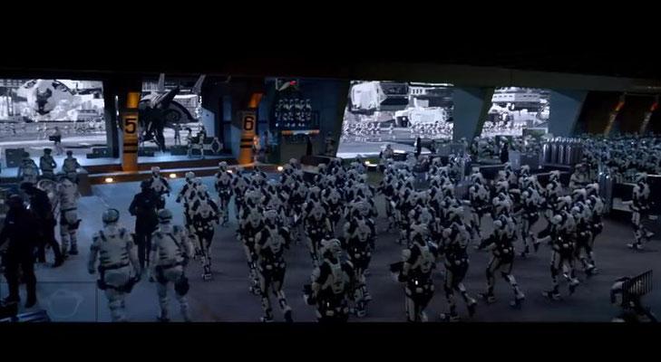 ein versuchter Putsch mit Roboter-Soldaten soll den ursprünglichen Plot aufwerten, mit wenig Erfolg