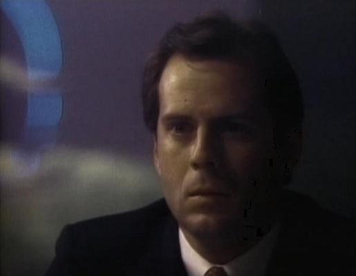 Der junge Bruce Willis in einer seiner ersten Rollen