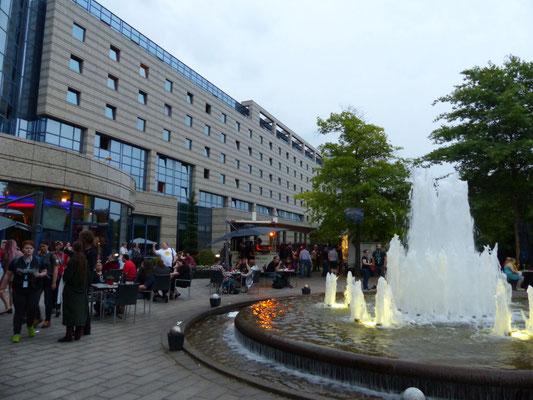 das Maritim Hotel Bonn gegen Abend