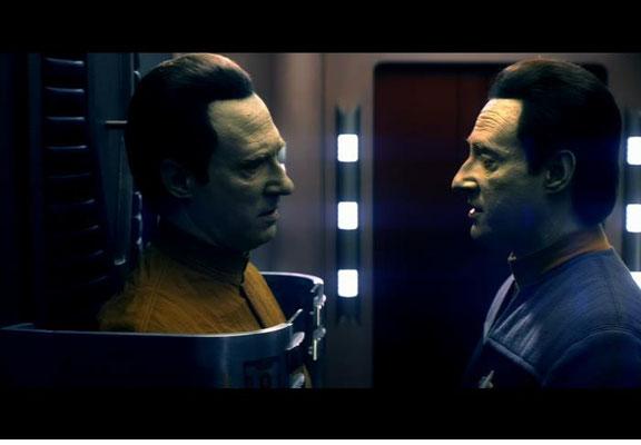 """Spiner schrieb Datas Tod in das Drehbuch hinein, doch das Studio wollte eine Hintertür für eine eventuelle Rückkehr. So verfiel man auf die Idee eines Androiden namens """"Before"""""""