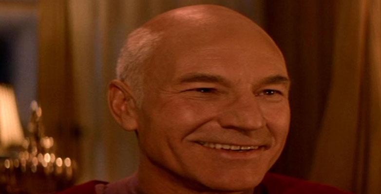 Picard befindet sich in einer Welt des Schein und Trug, die aber ewige Glückseligkeit verspricht...
