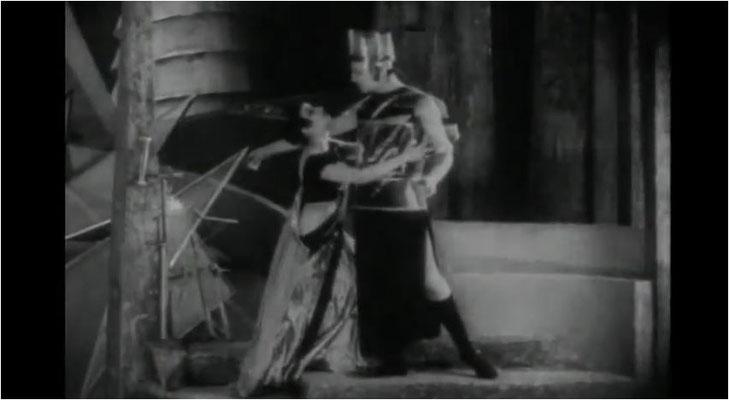 das expressionistsche Kostümdesign von Aelita setzte Maßstäbe im Genre und beeinflusste letztlich nicht nur den großen Fritz Lang