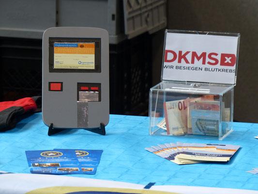 Die Fangruppe betätigt sich gemeinnützig für die DKMS - eine lobenswerte Initiative