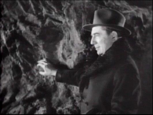 Kultstar Bela Lugosi in seiner angestammten Bösewicht-Rolle, hier als Boroff