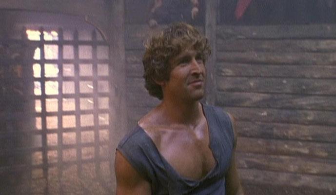 Jonathan Cake spielt den römischen Kaiser Nero, der wohl als Gegenspieler zur Figur des Astronauten Jeff Hale gedacht war
